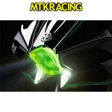 MTKRACING Motorcycle Parts Protective Lens Cover for Kawasaki H2 2015-2018