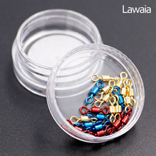 Lawaia Color Eight-character Ring Competitive High-speed Swivel Connector Fishing Supplies Line Small Accessories Tackle