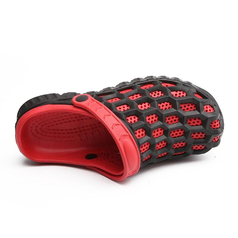 Новый летний Для мужчин слайд сандалии Повседневное мягкие Нескользящие сандалии для Для мужчин s слегка тапочки плоской подошве дышащие т...