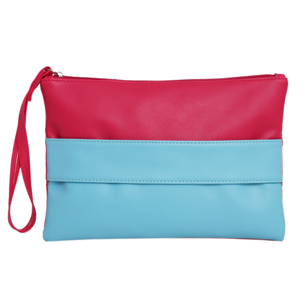 Candy Color Patchwork Women Bag Fashion Bags Handbags Women Famous Brand Tote PU Leather Clutch Purse Wallet Bag Bolsa Feminina candy color pu leather women bag day clutches patchwork handbag bolsa feminina new design ladies wristlets bags