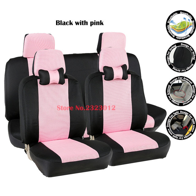 Front Rear Universal Car Seat Covers For Fiat Uno Palio Linea Punto Bravo