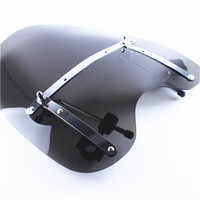 Windscreen Windshield Universal Fit Harley Road King Glide Star Softail Moto Accessories Smoke