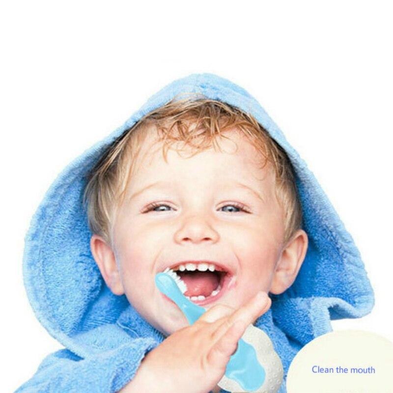 Baby Infants Kids Soft Safe Bendable Teether Training Teeth Toothbrush Brush 6 Pcs Wholesale Cheap Stuff Child Deciduous Brush