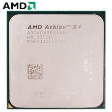 AMD Athlon II X4 740 разъем FM2 65 Вт 3,2 ГГц 904-pin четырехъядерный процессор cpu настольный процессор X4 740 разъем fm2