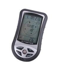 Freies verschiffen, außen digitale thermometer mit kompass Höhenmesser uhr wetterstation, acht in einem elektronische thermometer
