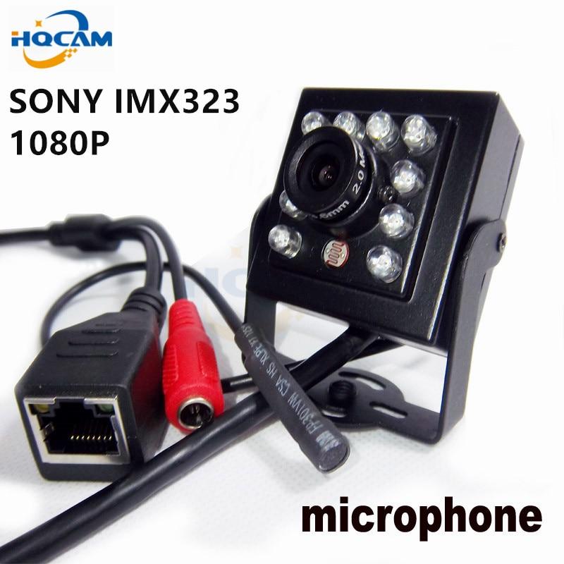 HQCAM 1080P MINI IR Camera 10pcs 940nm Ir Leds Infrared Cam Night Vision Suport Audio MINI IR Ip Camera,P2P Ip Cameraght IR-CUT