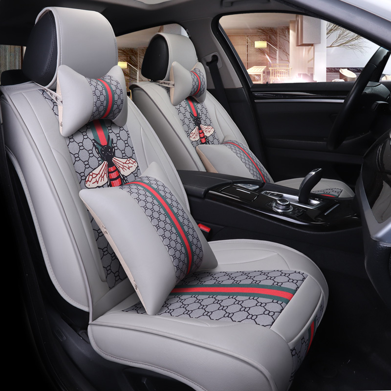 Flax car seat cover auto For Jeep compass grand cherokee jk patriot renegade wrangler jk in Automobiles Seat Covers from Automobiles Motorcycles