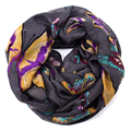 butterfly twilly infinity scarf women 2016 warm foulard femme cachecol inverno neck collar fulares mujer hijab roupa feminina