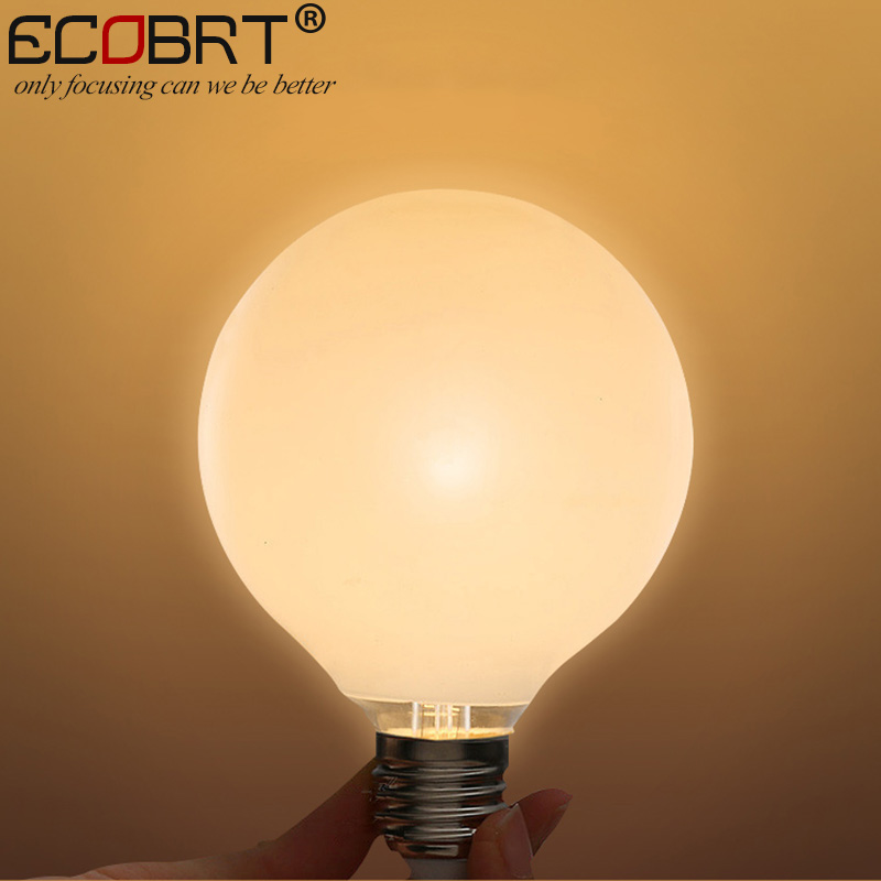 ECOBRT Big White E27 LED Bulb Lamps 5W for Pendant Light warm white cool white