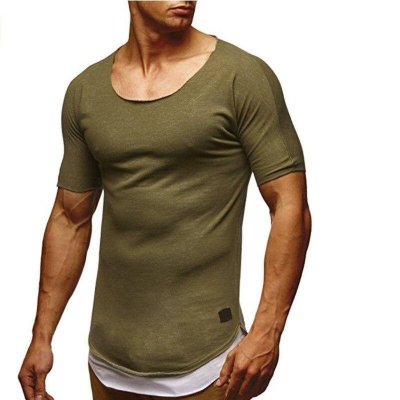 New Fashion tshirts Men's Casual T-shirt Hip Hop Short Sleeve tops male mens clothing tees t shirts