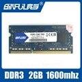 Абсолютно Герметичный DDR3 2 Г 1600 МГц SODIMM 204-контактный 1.5 В Памяти Ram memoria ram Для Ноутбуков Ноутбук Пожизненная Гарантия