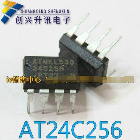 1pcs/lot AT24C256 24C256 DIP-8 DIP8 New Original
