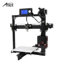Anet Aluminium Structure 3D Printer Large Print Size DIY 3D Printer Kit LCD 12864 Screen Prusa i3 Three dimensions Printers