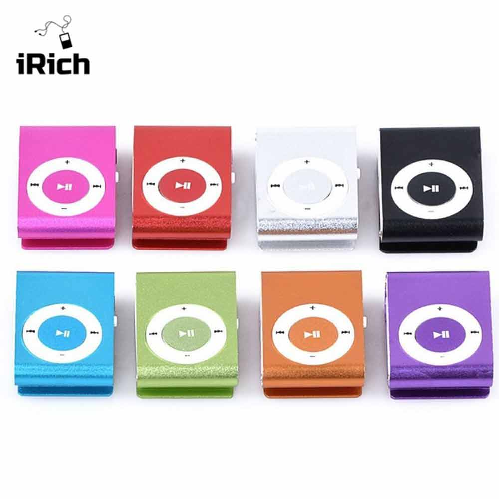 free shipping Portable Metal MP3 player fashion Mini Clip MP3 Player Sport Mp3 Music Player Walkman for kids girl gift gym