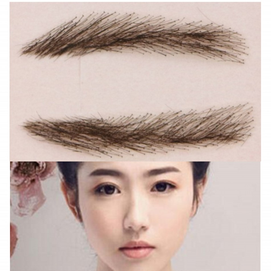 2017 Natural Hot Sale Real Sobrancelha 0015free Shipping Lady's Eyebrows/human Hair Eyebrows/model Eyebrow/ Eyebrow Enhancer hot sale board game never have i ever new hot anti human card in stock 550pcs humanites for against sealed ship free shipping
