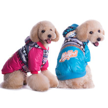 Newest snowflake pet clothes winter clothing for dogs fabric pet clothes for dog dachshund dogs costume retail and wholesale