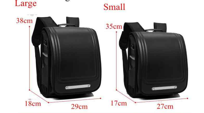 Японский Школьный Рюкзак японская ортопедическая школьная сумка детская PU рюкзак для тележки Япония для девочек колесный рюкзак сумка для детей