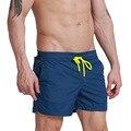 2017 Твердые Мужчины Пляж Совета Шорты Quick Dry DESMIIT Марка Дизайн человек Бермуды Шорты Ванны Ванна Костюмы Повседневная Одежда С Сеткой Breifs