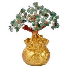 Vintage Hars Woondecoratie Kristal Geld Boom Fengshui Beelden Woondecoratie Accessoires Kantoor Rijkdom Lucky Ornaments S4