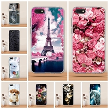 For Huawei Y5 2018 Case For Huawei Honor Play 7 Case Soft Silicon Cover For Huawei Y5 Prime 2018 Case for Fundas Honor 7s Cover
