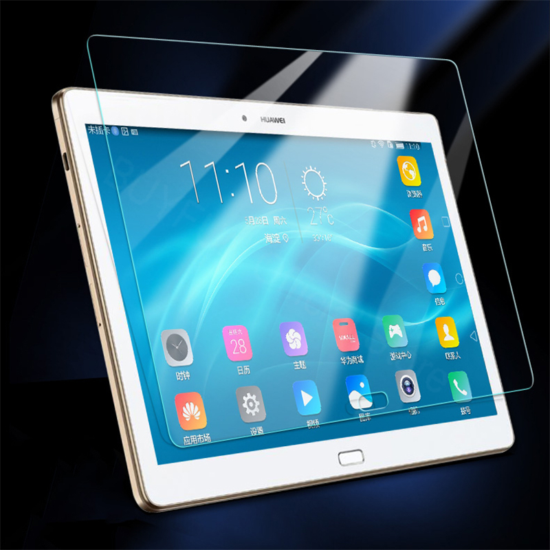 Tempered Glass For <font><b>Huawei</b></font> <font><b>MediaPad</b></font> T3 7.0 8.0 9.6 inch Wifi 4G Version M5 M5 Pro Tablet <font><b>M3</b></font> <font><b>lite</b></font> 8 <font><b>10</b></font> inch Screen Protective Film image