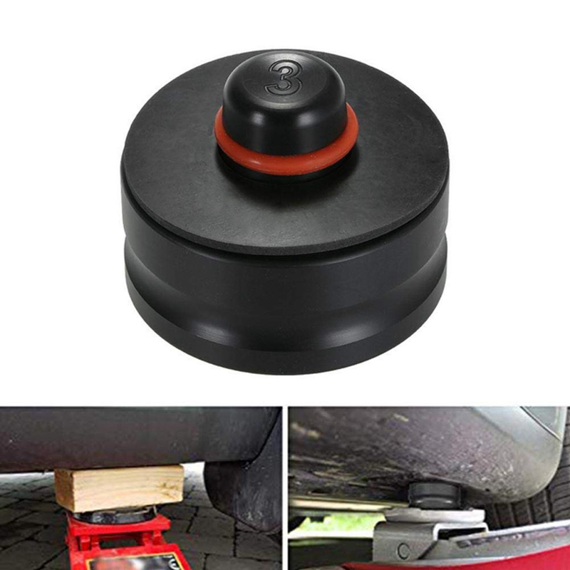 4Pcs For Tesla Model 3 Car Jack Lift Pad Adapter Tool Raising Vehicle Rubber Pad Chassis Dedicated