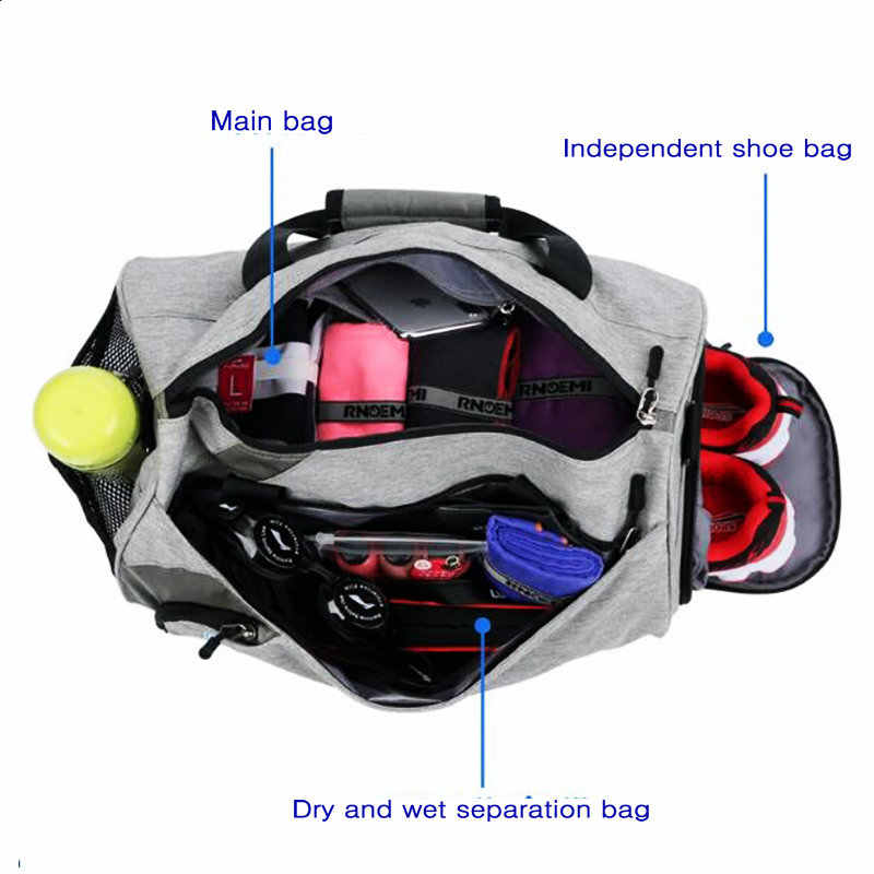 Detail Feedback Questions About Mens Gym Bag With Compartment For