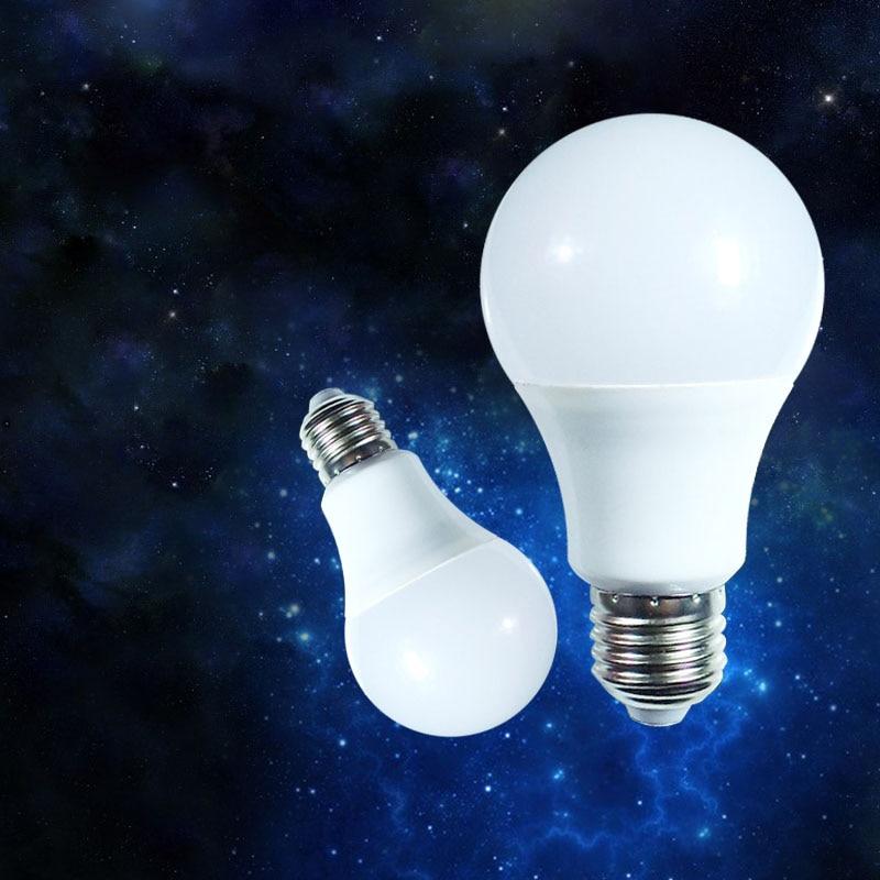 LED Bulb Lamps E27 85V-265V 110V 220V Light Bulb Smart IC Real Power 3W 5W 7W 9W 12W 15W High Brightness Lampada LED Bombillas