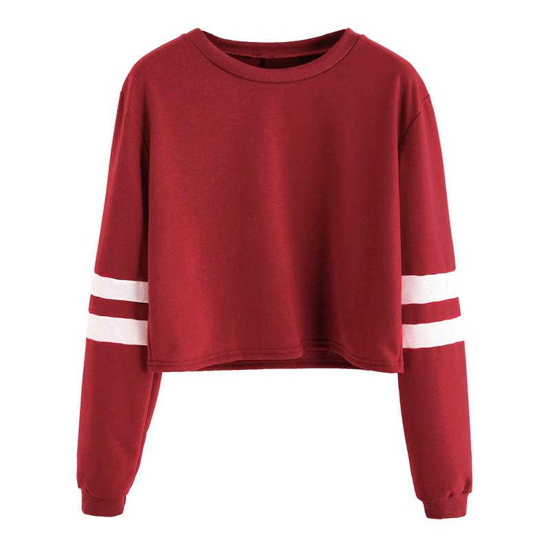 HTB1ZMuUNXXXXXXoXVXXq6xXFXXXY - Round Neck Varsity Striped Long Sleeve Crop T-shirt PTC 101