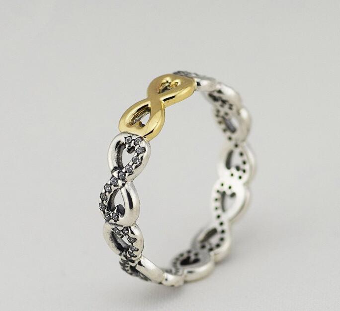 anillo pandora amor infinito