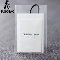 Angepasst Gedruckt marke name hängen tags mit Spezialität papier für garment kleidung/schuhe/taschen/Kleidung tags/label mit opp beutel