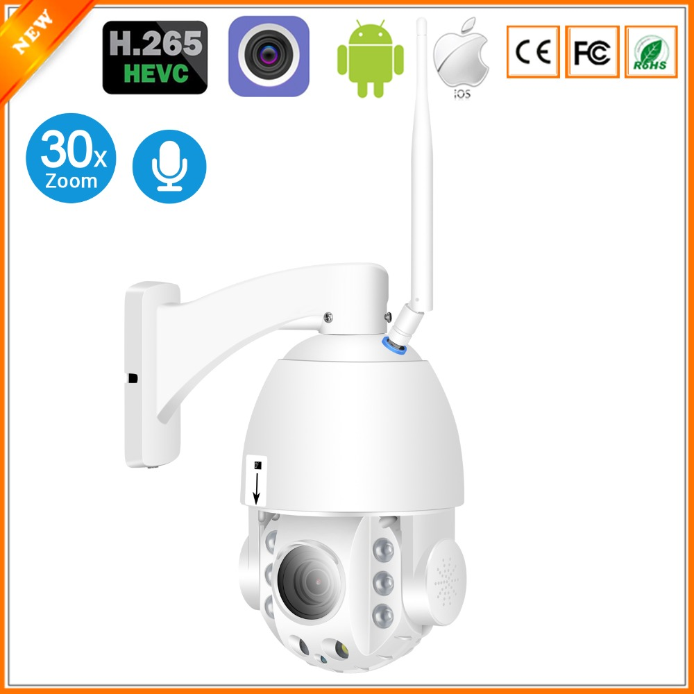 BESDER WiFi PTZ H 265 30X Auto Focus IP Camera 1080P Outdoor Speed Dome Camera Full