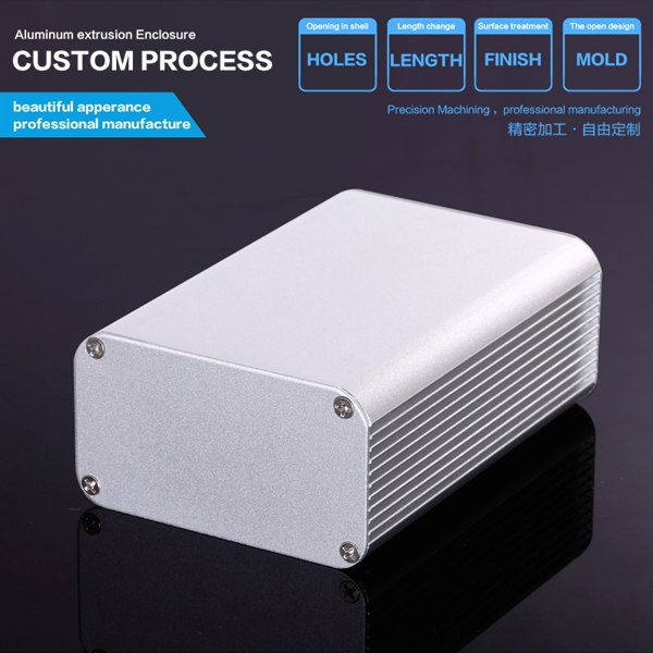 DIY aluminum box 80*45*115 mm (wxhxl) (1pcs)outdoor electric box aluminium server enclosure extruded aluminum housing case 152 44 130 mm wxhxl aluminum extruded electronic housing box as per customer s drawing