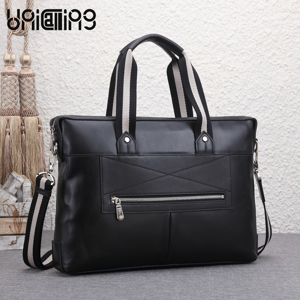 UNICALLING men briefcase fashion top grade quality leather men business briefcase new style leather male bag business handbagUNICALLING men briefcase fashion top grade quality leather men business briefcase new style leather male bag business handbag