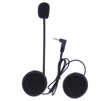 V6 Intercom Accessories 3 5mm Jack Plug Earphone Stereo Suit For V6 Bluetooth Intercom Motorcycle