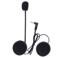 V6 intercom accessori, 3.5mm Jack Spina del Trasduttore Auricolare Stereo Vestito per V6 V4 Bluetooth Intercom Moto
