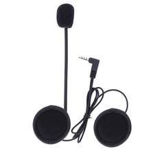 Accesorios interfono V6, 3.5mm Conector jack de Auriculares Estéreo Juego para V6 V4 Intercomunicador del Bluetooth de la Motocicleta