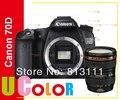 New Canon EOS 70D Digital SLR Camera Body & EF 24-105mm F/4 L IS USM Zoom Lens