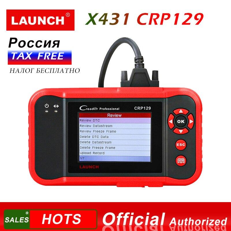 Lançamento X431 CRP129 2 Lançamento Creader 129 Leitor de Código de Ferramenta de Diagnóstico obd scanner de diagnóstico automotivo carro diagnósticos CRP 123 VIII