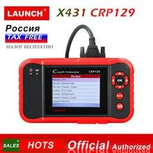 Старт X431 CRP129 Creader 129 инструмент диагностики считыватель кода для компьютерной диагностики автомобиля 2 Старт диагнозы сканер автомобильные диагнозы CRP 123 VIII
