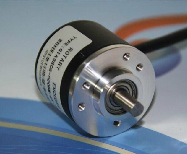 Бесплатная слежения датчика 400 P/R Инкрементальный энкодер 400 P/r AB фазы энкодера 6 мм вал + муфта