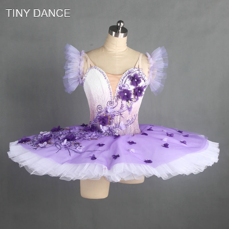 Customize Ballet Dance Tutu Light Purple Ballerina Dress