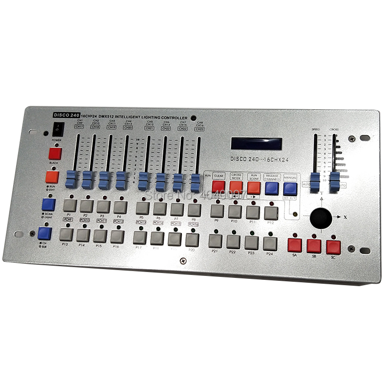Newest 240 Disco DMX Controller DMX 512 DJ dmx Console Equipment For Stage Wedding And Event Lighting dj controller newest 240 disco dmx controller dmx 512 dj dmx console equipment for stage wedding and event lighting dj controller