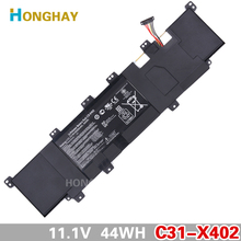 11.1V 44WH New Real Authentic C31-X402 Laptop computer Battery for ASUS VivoBook S300 S400 S400C S400CA S400E