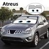 Atreus 1pc Cartoon Car Window Windshield Windscreen Cover Sun Shade For Lexus Honda Civic Opel Astra