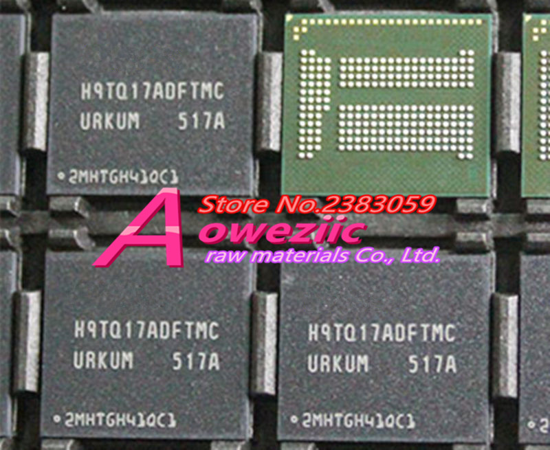 Aoweziic (1PCS) (2PCS) (5PCS) (10PCS)  100% New original H9TQ17ADFTMCUR-KUM BGA  Memory chip  H9TQ17ADFTMCUR KUM 1pcs 2pcs 5pcs 10pcs 100% new original klmbg4webc b031 bga emmc 32gb memory chip klmbg4webc b031