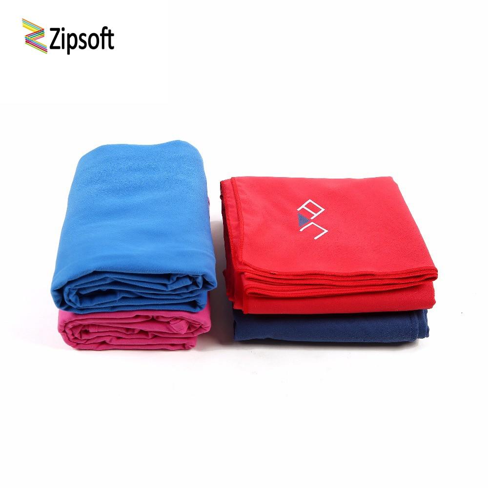 Zipsoft Towel Microfiber Fabric Beach Travel Compact