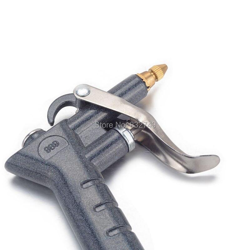 Новый 1 шт. воздух дует пистолет Blow Пыль чистой Инструменты воздуха Duster дуновение воздуха от пыли пистолет air Кисточки опрыскиватель Алюмини...