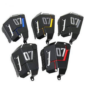 Image 1 - MT07 FZ07 Coolant Recovery Tank Shielding Cover For Yamaha MT 07 FZ 07 MT 07 FZ 07 2014 2015 2016 2017 2018 2019