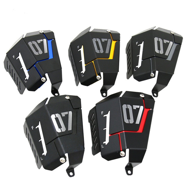 MT07 FZ07 Coolant Recovery Tank Shielding Cover For Yamaha MT 07 FZ 07 MT 07 FZ 07 2014 2015 2016 2017 2018 2019
